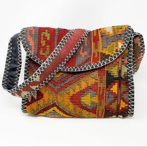 Boho Hand Woven Kilim Bag